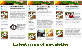 Latest issue of newsletter