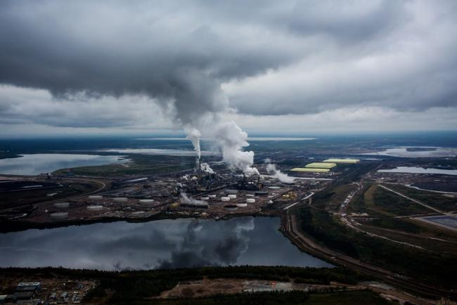 The Syncrude Canada plant at the Athabasca oil sands near Fort McMurray, Alberta.Credit...Ben Nelms/Bloomberg