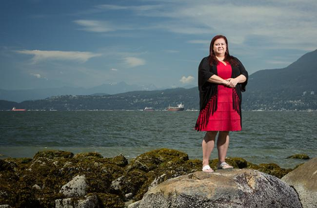 Former Tsawwassen First Nation Chief Kim Baird is one of three members of the federal environmental review panel for the Trans Mountain pipeline Photo Peter Holst