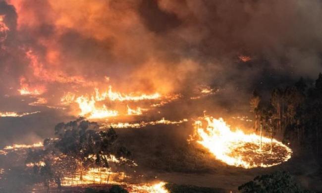 Australia on fire Jan 2020