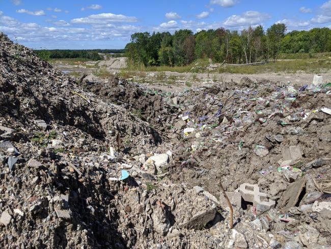 The recycling site is owned by both Gabriel's brothers, Robert and Gary, and has been causing tension since 2014. (COURTESY VIRGINIE ANN )
