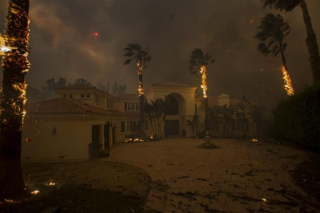 California in flames CreditDavid Mcnew/Getty Images