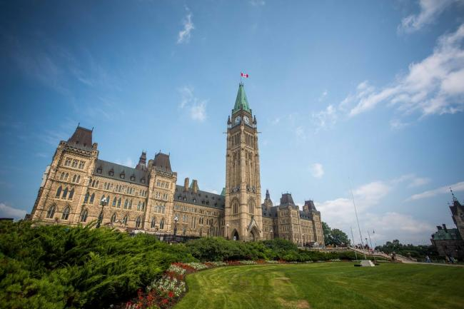 File photo of Parliament Hill in 2017. Photo by Alex Tétreault