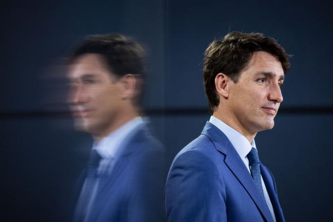 Prime Minister Justin Trudeau speaks to reporters at a news conference in Ottawa on June 20, 2018. File photo by Alex