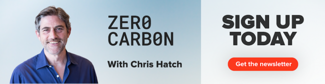 Chris Hatch - In a weekly climate newsletter, climate correspondent Chris Hatch sorts through the kaleidoscope of news, ideas, politics and culture to figure out what's working in the race against climate change.