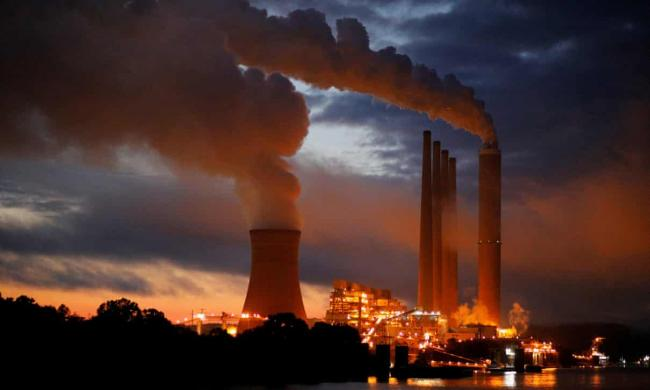 Environmental advocates say investing billions in an industry that is polluting the planet and causing the climate crisis is short-sighted and a bad use of public money. Photograph: Brian Snyder/Reuters