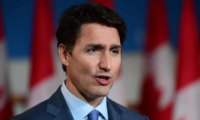 'It's time for the Trudeau government to change direction.' Photograph: Canadian Press/Rex/Shutterstock