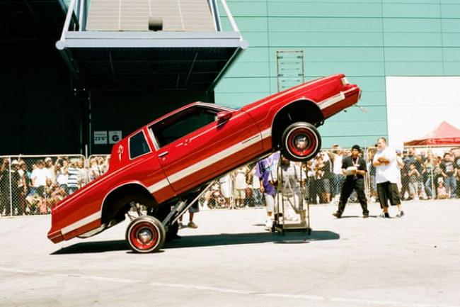 Empowerment … a 'lowrider' convention in Los Angeles. Photograph: Victoria & Albert Museum