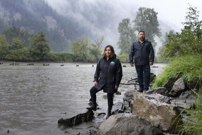When Sally Hope and Murray Ned were teens, they spent summers on the Fraser River fishing salmon. Now, they're lucky to get out for a few days each season to catch fish for food due to dwindling stocks. Photo by Jen Osborne / Canada's National Observer