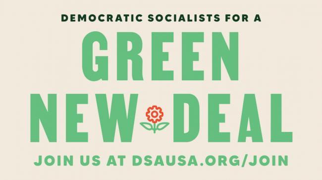 DSA's Green New Deal Principles