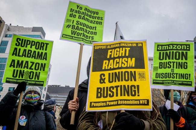 Organized labor is in a moment of renewed power. ERIK MCGREGOR GETTY IMAGES