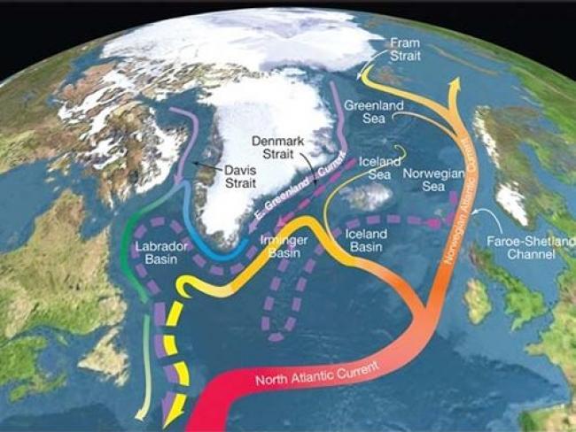 R. Curry, Woods Hole Oceanographic Institution/Science/USGCRP