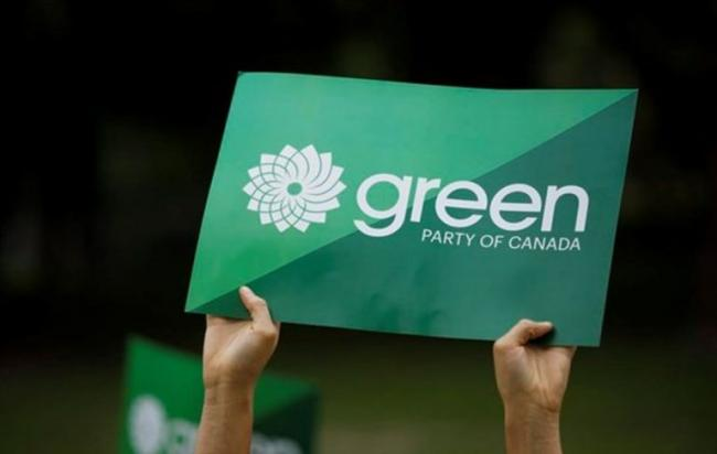 Green Party Logo - Source: Cole Burston/Canadian Press