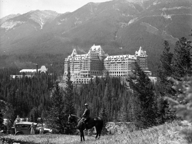 Banff was Canada's first national park. The federal government departments responsible for parks have treated Indigenous peoples 'like an infestation' ever since Banff's founding, Robert Jago wrote in a 2017 essay for the Walrus. Photo by William John Oliver, courtesy of National Parks Branch / Library and Archives Canada.