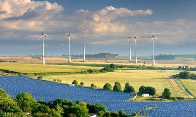 The study found there is a 66% chance of staying below 1.5C above pre-industrial levels if immediate action is taken. Photograph: Alamy