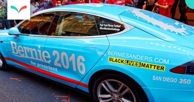 Bernie Sanders car