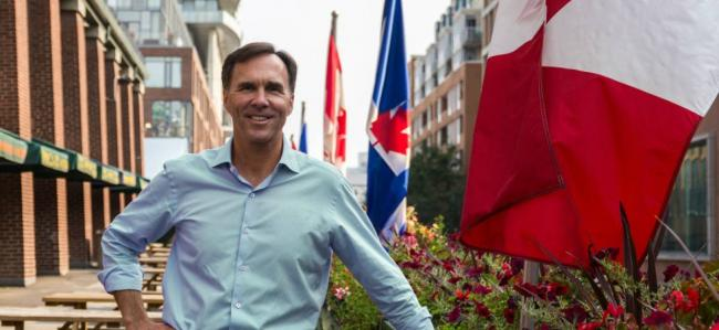 Bill Morneau resigned as finance minister today. He also said that he won't seek reelection in his Toronto riding.
