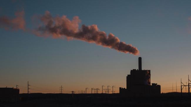 The coal fired Keephills Power Station in Wabamun, Alberta. Photo by Amber Bracken.