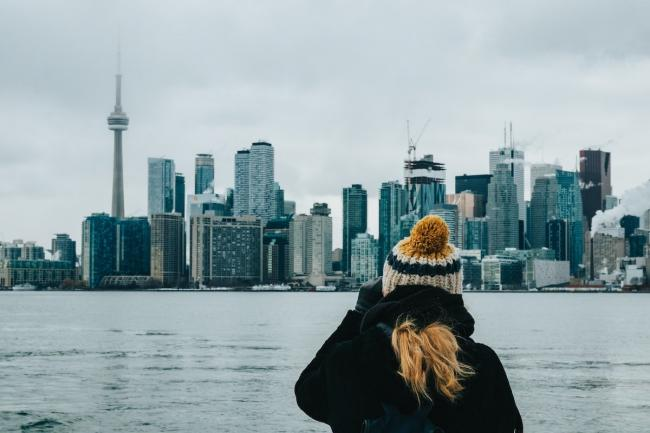 The Toronto skyline from Ward's Island. Production of concrete, metal, plastic, bricks and asphalt is greater than the mass of living matter on the planet, new research says. Photo by Caio Silva via Unsplash