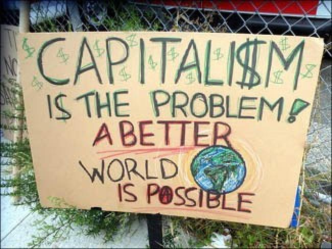 Capitalism is the Problem - Image by The All-Nite Images via Flickr