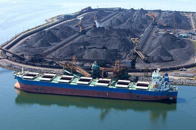 Last year, just over six million tonnes of U.S. coal passed through Vancouver ports. DAN PRAT