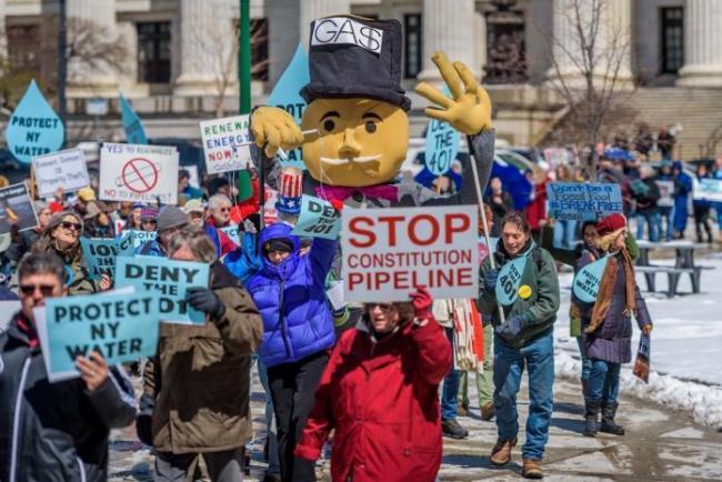 Protest against Constitution Pipeline US
