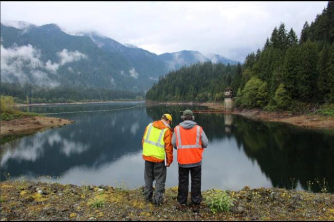 Coquitlam Reservoir supplies up to 40 per cent of Metro Vancouver's water — in the coming decades that's expected to double. (via UVIC Environmental Law Centre)