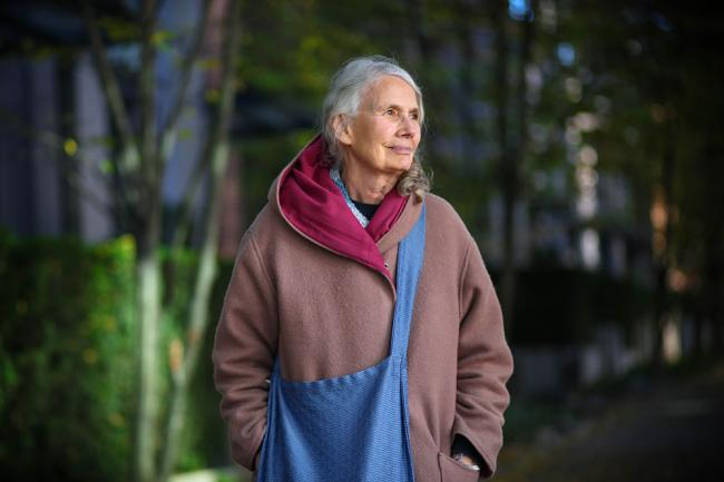 'I feel like I've jumped into the fire': After 30 years as an activist outsider, Jean Swanson is now finding her way inside the halls of power in Vancouver. Photo by Christopher Cheung.