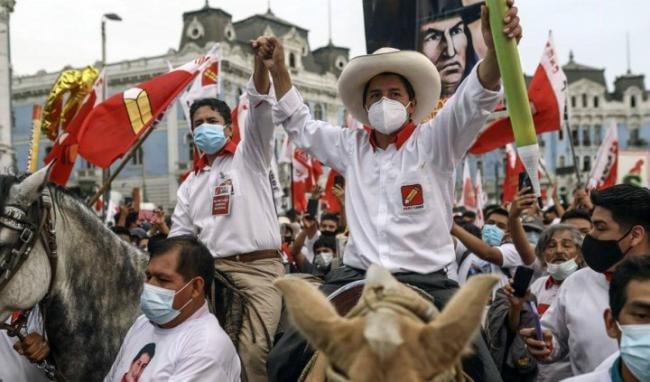 Wide layers of workers and peasants in Peru, through Castillo's candidacy, are seeking solutions to the hardships that they face / Image: Vladimir Cerrón