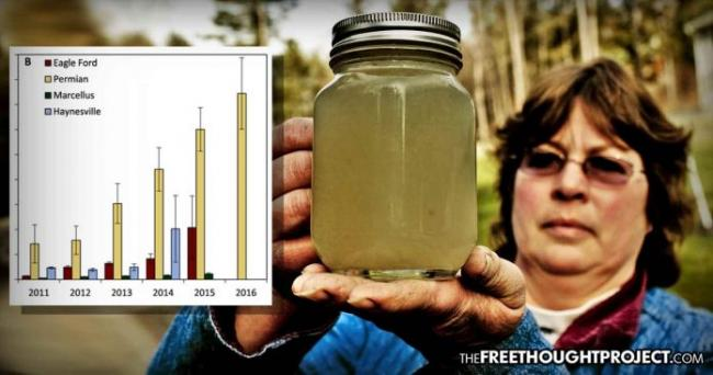 The fracking industry is sucking up the nation's drinkable water and replacing it with toxic waste