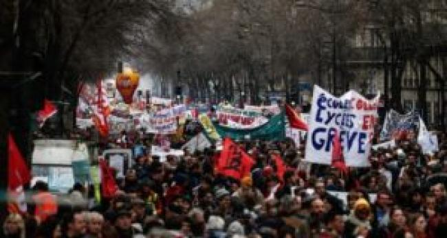 French General Strike Jan. 2020