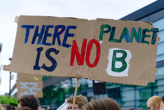 Fridays for future - there is No planet B