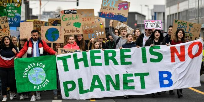 There is no planet B - Fridays for Future