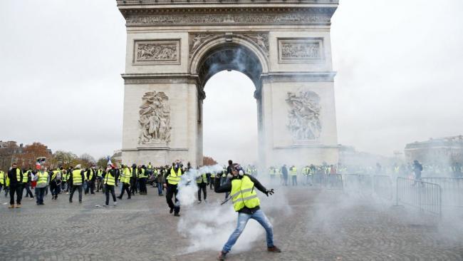 Paris - gilets jaune