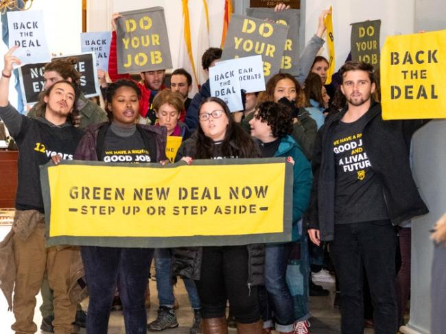 Green New Deal Now