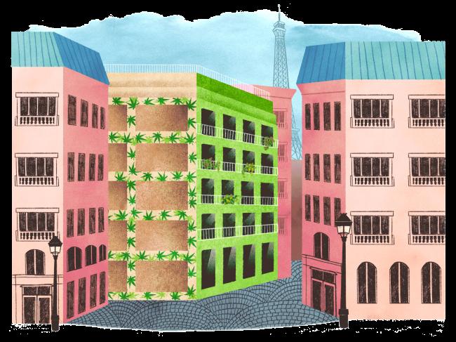 Building using hem - Grist / Amelia Bates