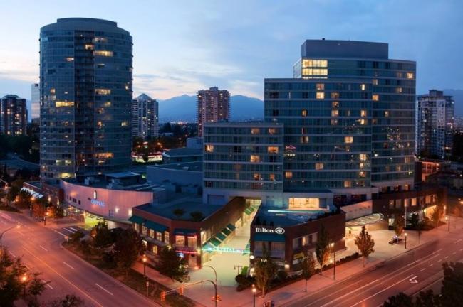 The Hilton hotel in Burnaby. Hilton photo