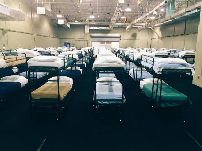 A dorm at the Homestead compound in an image provided by the federal government in 2016. (U.S. Department of Health and Human Services)