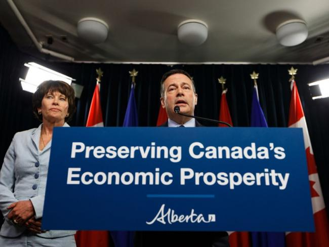 Alberta Energy Minister Sonya Savage and Premier Jason Kenney see a need for $20 billion to $30 billion injected into the province's oil sector. IAN KUCERAK/POSTMEDIA