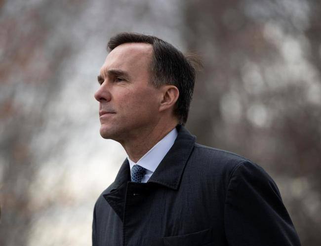 Bill Morneau, who remains Minister of Finance, arrives for a swearing in ceremony at Rideau Hall in Ottawa, on Wednesday, Nov. 20, 2019. File photo by The Canadian Press/Justin Tang