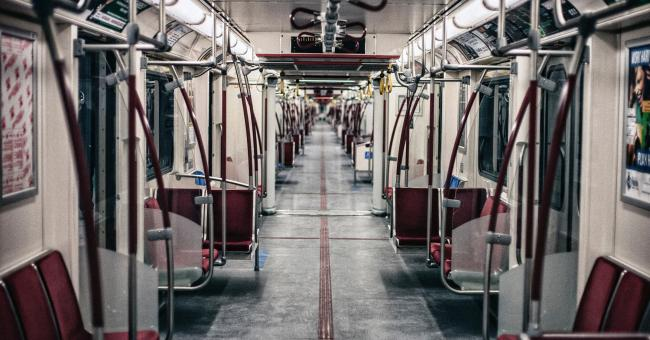 Inside transit carriage - Justin Main/Unsplash