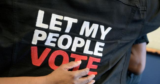 Let my people vote: Republicans are intent on holding on to power at all costs, like the Afrikaners in apartheid South Africa. (Photo: Phelan M. Ebenhack for The Washington Post via Getty Images)