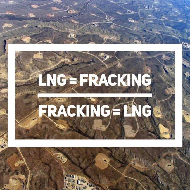 LNG=Fracking, Fracking=LNG