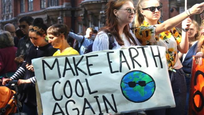 Make Earth Cool Again poster