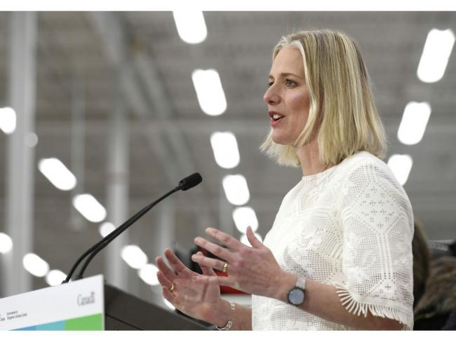 "Environment Minister Catherine McKenna's office says Canada's ""efficiency"" of stratospheric ozone monitoring hasn't changed as a result of two monitoring stations being cut under Harper that have yet to be restored. Photo by the Canadian Press"