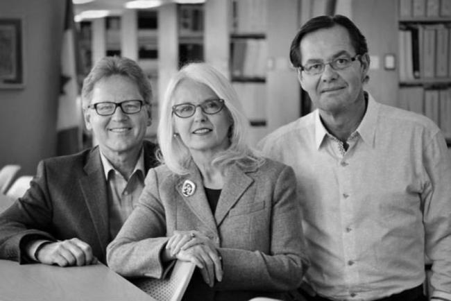 The original members of the National Energy Board's Energy East panel, Roland George, Lyne Mercier and Jacques Gauthier, recused themselves in September 2016. Photo from National Energy Board website.