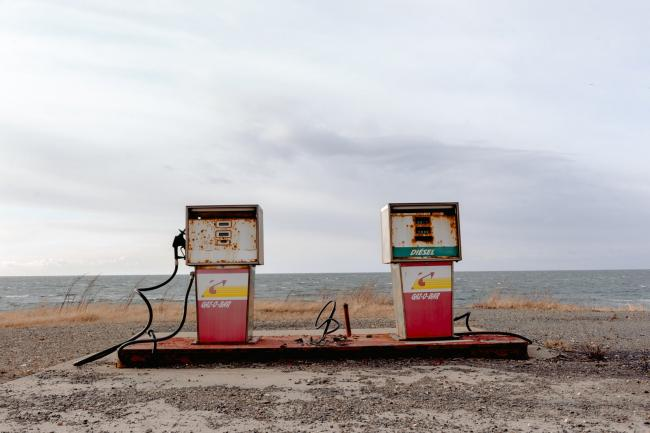 old gas pumps - The signatories say carbon capture investment will only lead to more fossil fuel extraction. Photo by Harrison Haines/Pexels
