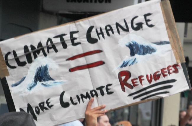 Melbourne's Global Climate Strike on Sept. 20, 2019, had well over 100,000 people packing Treasury Gardens. Photo by John Englart / Wiki Commons