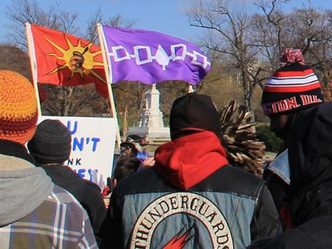 Indigenous protest - Rob87438/Wikimedia Commons