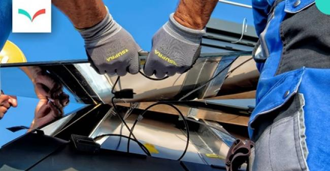 Zurich Solar panel installation - Ricardo Gomez Angel/Unsplash